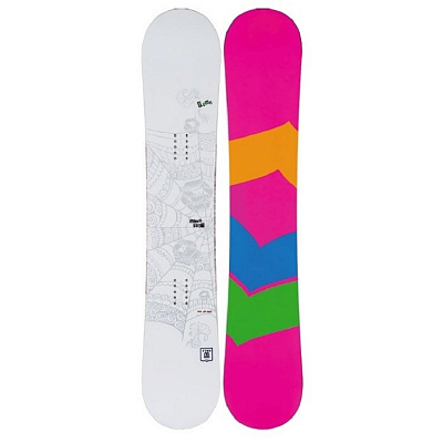 СНОУБОРД FTWO WHITEDECK LADY ROCKER 2015