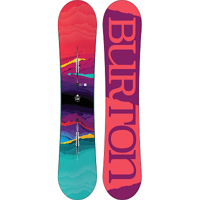 СНОУБОРД BURTON FEELGOOD FLYING V 2018