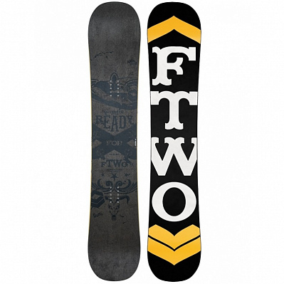 СНОУБОРД FTWO BLACKDECK WOOD 2016